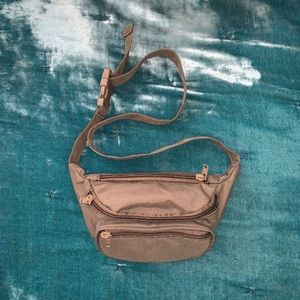 Mini Fanny Pack in Olive green color
